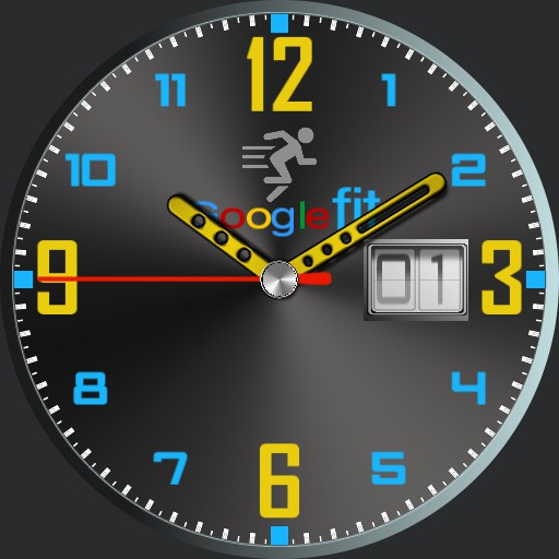 Animated Watch face