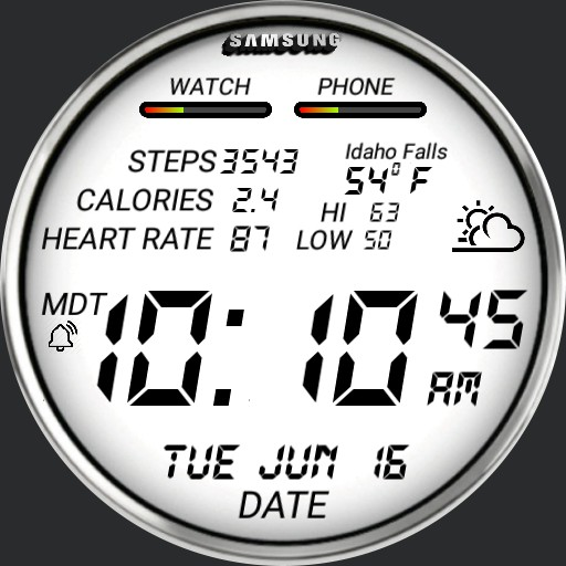 Digital Weather and Fitness 1.0w