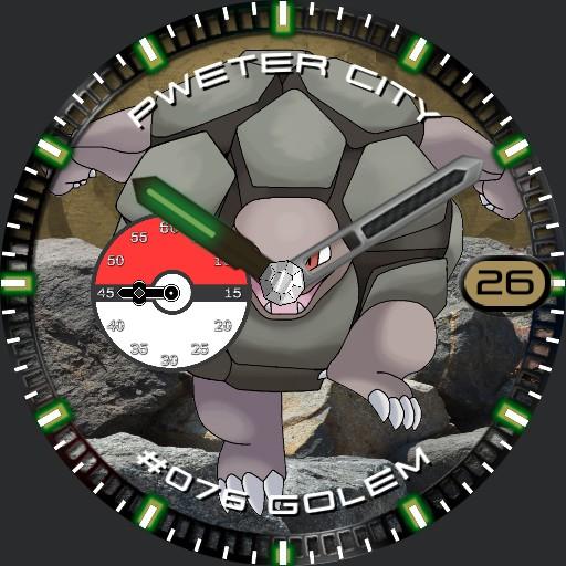 Pokemon Watch Golem