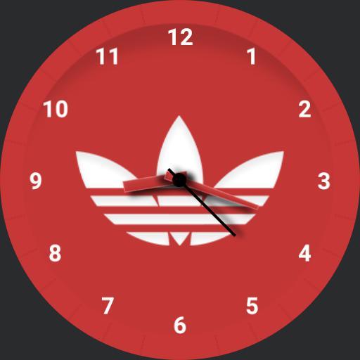 Red Adidas
