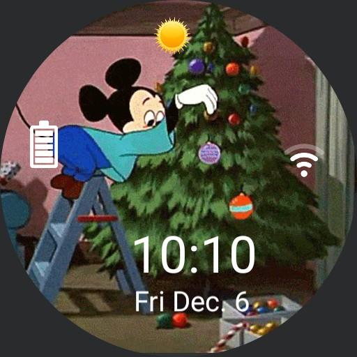mickey christmas