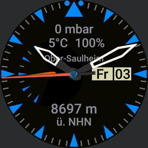 Altimeter Pilot V 1.41 Blue