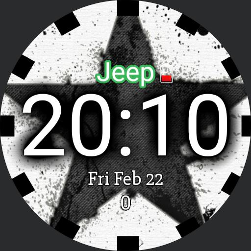 Jeep watch green