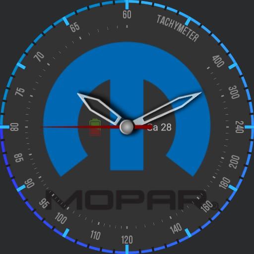 MOPAR Blue