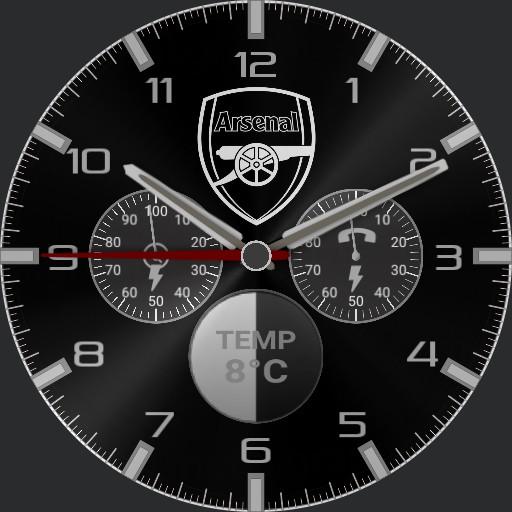arsenal Blackwhite