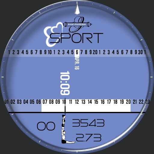 Love Sport ucolor Stopwatch