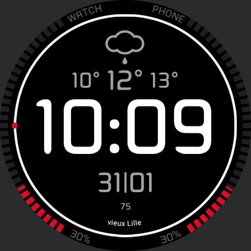 Simple digital watch alexboss001
