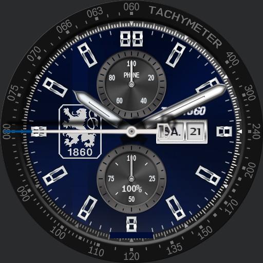 Tsv 1860 Muenchen sechzig blue II