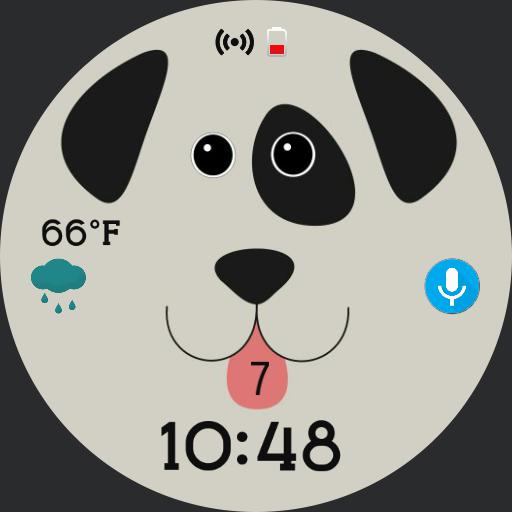 Doggy Time by Face Pop Watchface Wear