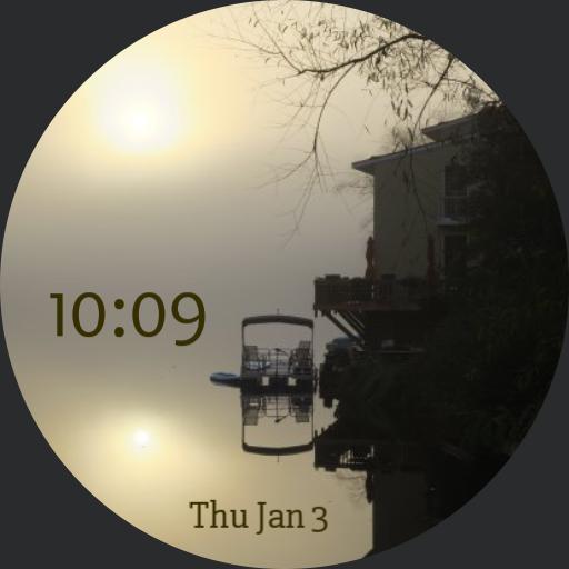 Foggy Sunrise on the Lake