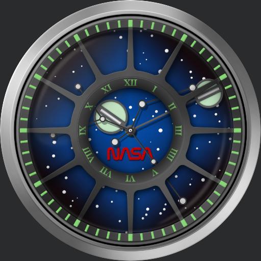 NASA Trappist 1 - I.S.S. International Space Station SKU-TAN-1127-12L