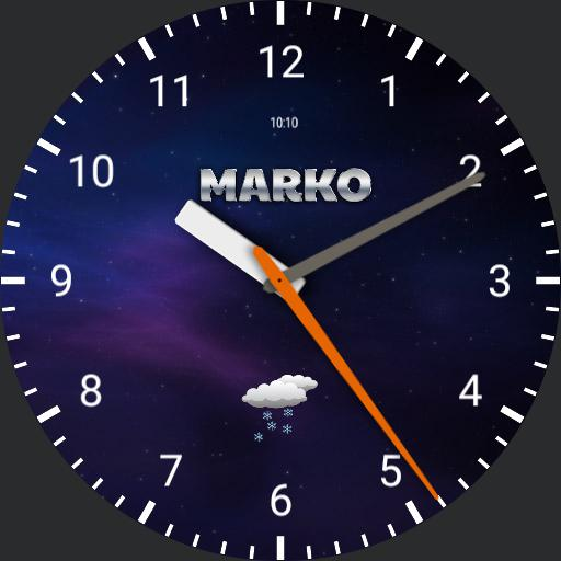 Galaxy watch by Mark0
