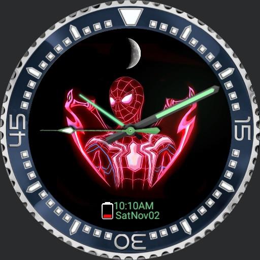 Spiderman_neon