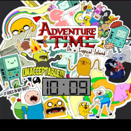 Adventure Time Stickerbomb
