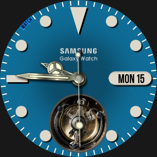 Samsung R0EX Turbillon with Stopwatch Copy