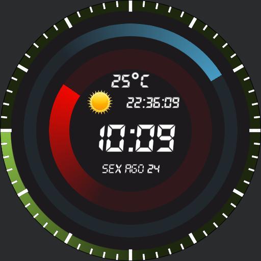 Circule Clock