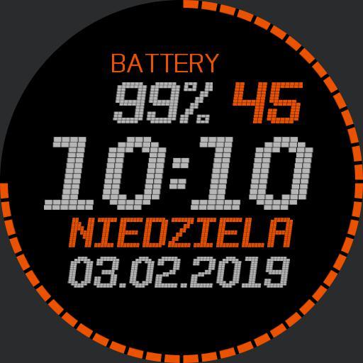 grey orange digital sec