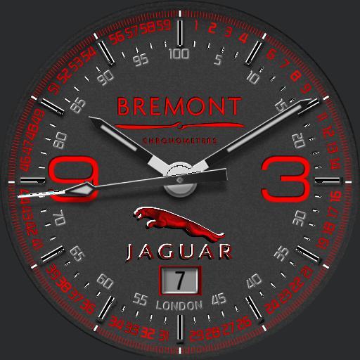 Jaguar red Bremont