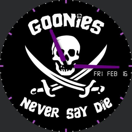 Goonies Never Say Die Purple