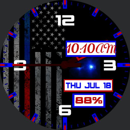 Thin Blue Red Line 4