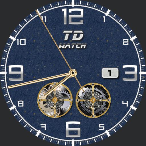 TD Watch Blue