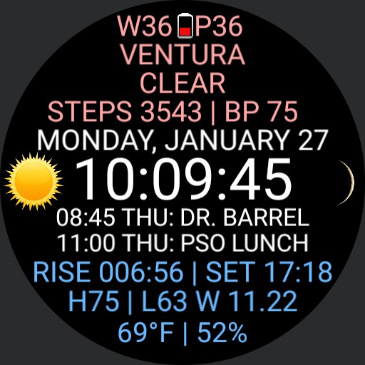 Event Weather Watch