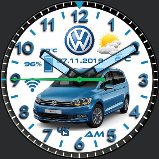 VW-Watch 1.8 Blue Edition Copy