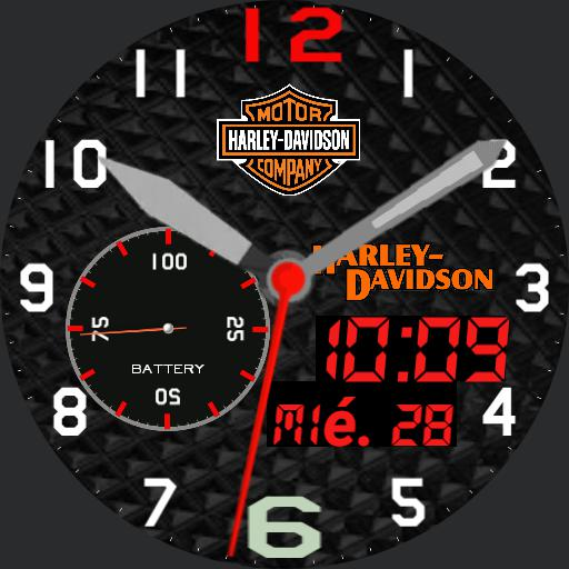 Harley Davidson watch  FJM Copy