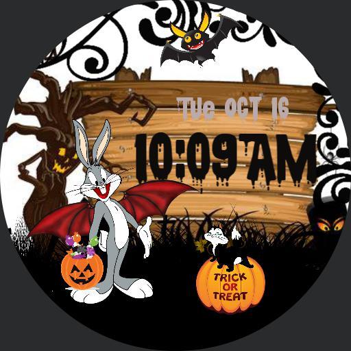 Halloween with Bugs Bunny