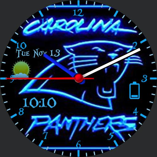 Panthers Neon