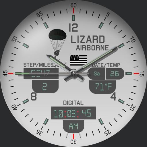 Lizard Airborne
