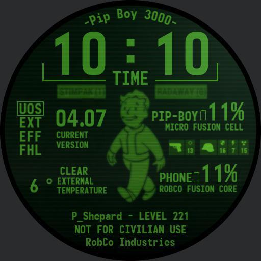 Pip-Boy 3000 - For my friend sheppy