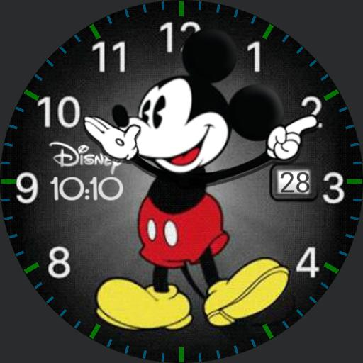MickeyWatch W/Digital