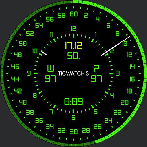 Hybrid Circle Ticwatch S optimiert