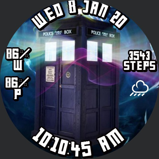 TARDIS face