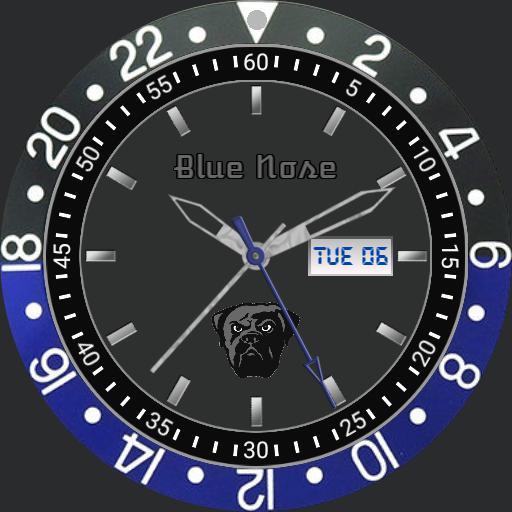 Blue nose pit