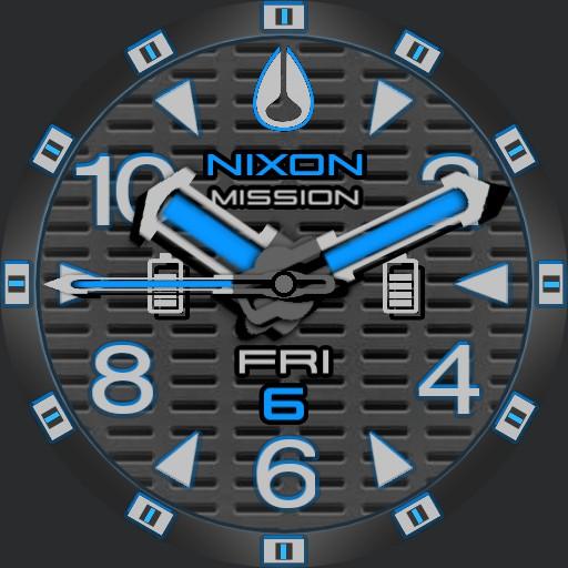 PVS Nixon Factor-X BB-Blue T-Grid