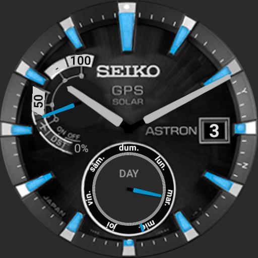 Solar GPS Blue