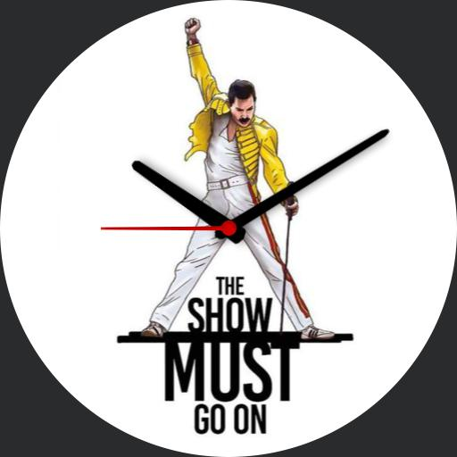 Freddie Mercury- The Show Must Go On