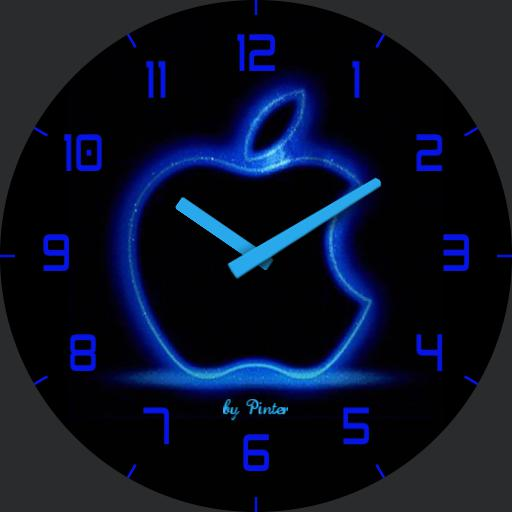 Apple blue analog
