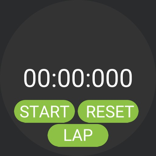 Stopwatch With Lap Timer Tutorial Demo