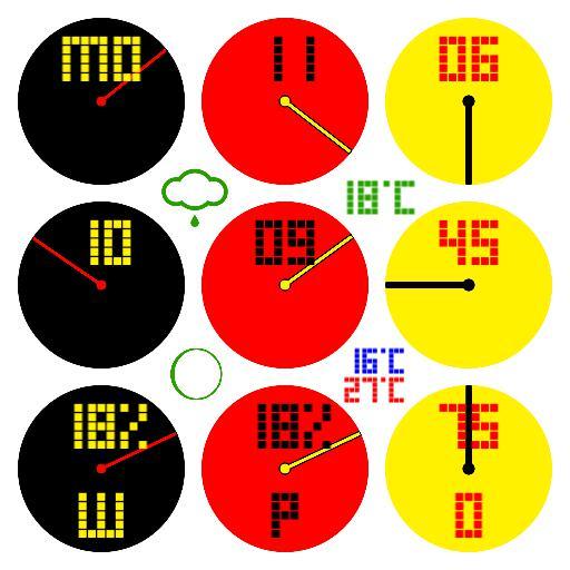 666 circles