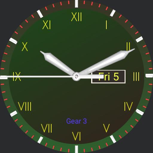My Watch Green 2