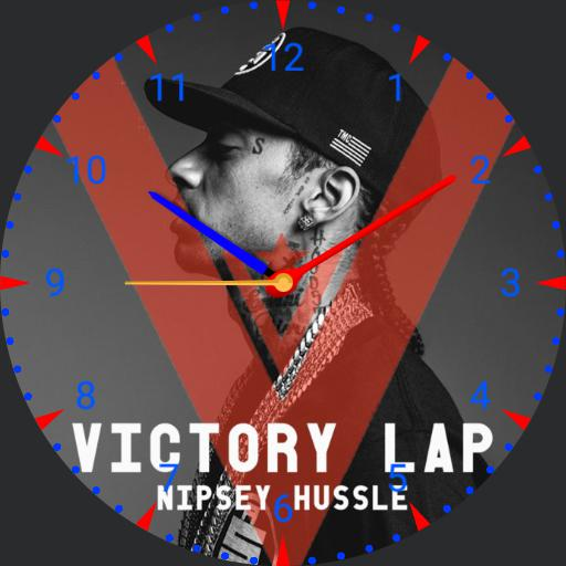 Nipsey Hussle Victory Lap face