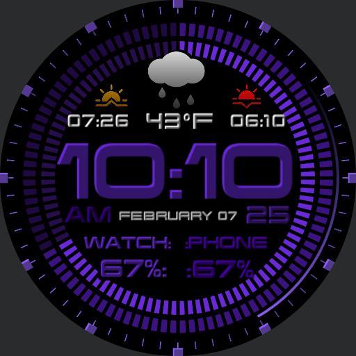 Monochrome Digital Purple Copy