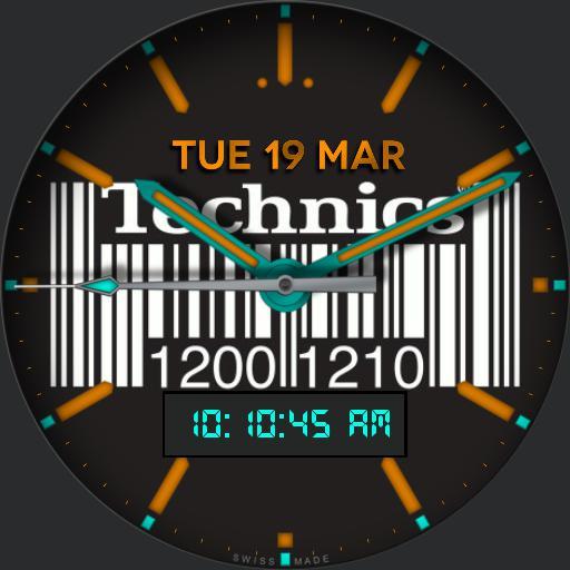 Technics Barcode
