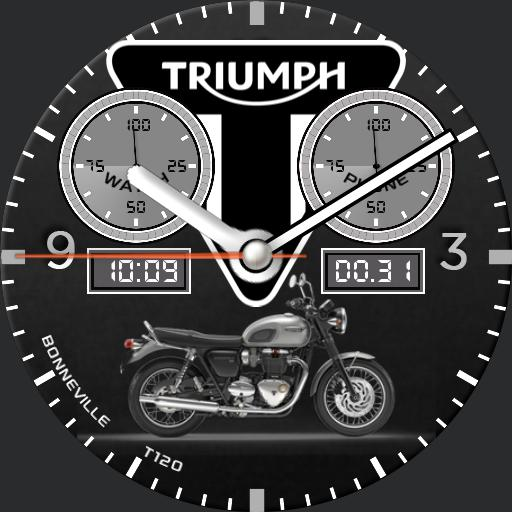 Triumph Bonneville T120 Watch