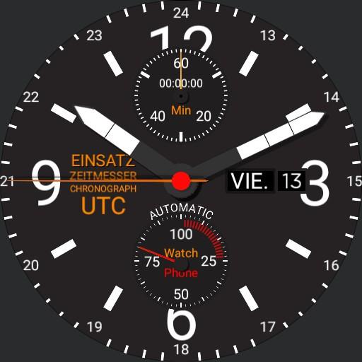 Mission Timer Chronograph UTC 2.2 Copy