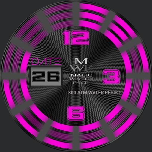MAGIC Watch Hands free dark Pink