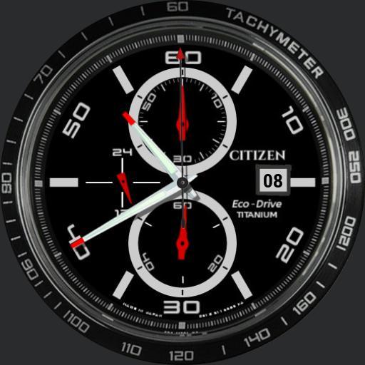 Citizen Eco-Drive Super Titanium CA0341-52E w/zoom FINAL